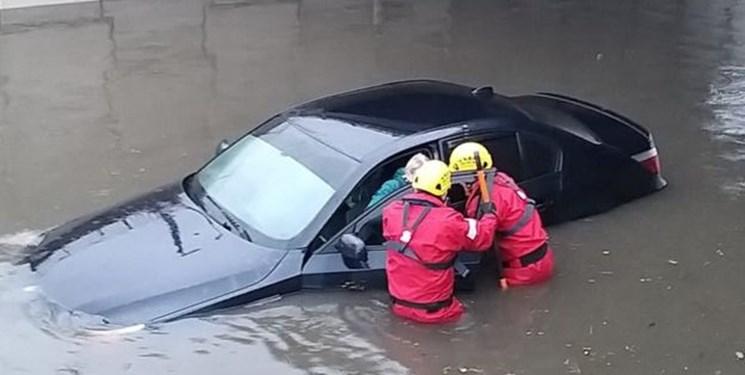 «طوفان سیارا» دهها پرواز و سفر قطارها در اروپای غربی را لغو کرد