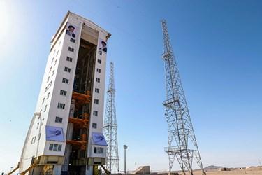 پرتاب «ماهواره ظفر» توسط «ماهواره بر سیمرغ»