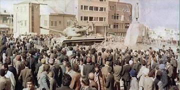 سرکوب تانکهای سرکوبگر در همدان