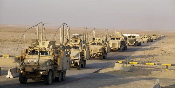 ارسال تجهیزات آمریکایی از «عین الاسد» به سوریه