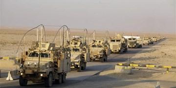 انفجار در مسیر کارون نظامی آمریکا در جنوب عراق