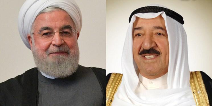 پیام تبریک امیر کویت و سلطان عمان به روحانی به مناسبت سالروز پیروزی انقلاب اسلامی