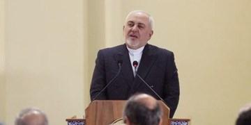 ظریف: بدانید که مردم ایران طرفدار دشمن آمریکا هستند
