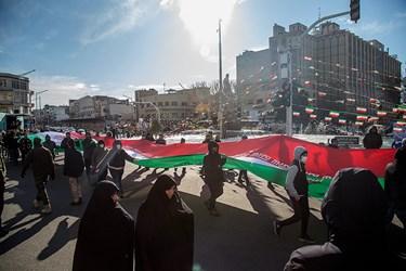 آغاز راهپیمایی ۲۲ بهمن ۱۳۹۸/ تهران