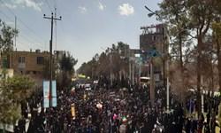 اجتماع بینظیر مردم کرمان در راهپیمایی 22 بهمن +تصاویر