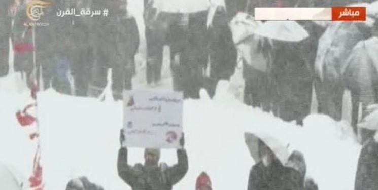 المیادین: حضور مردم در بارش برف در سالروز انقلاب، اثبات دروغ اجباری بودن حضورشان است