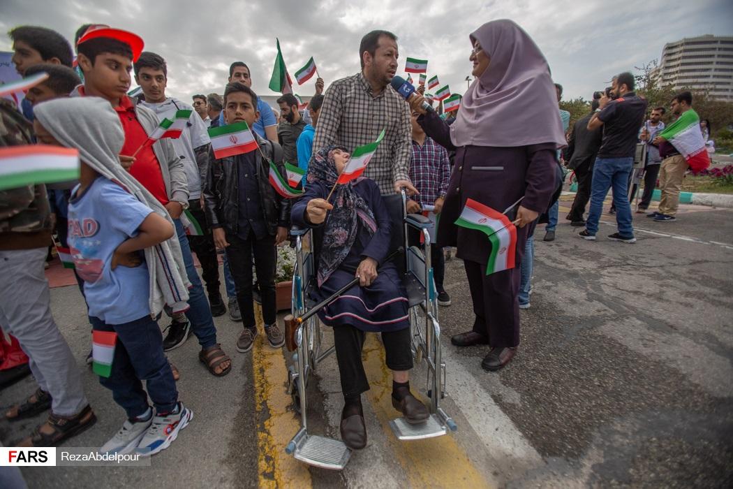 گزارش تصویری | راهپیمایی ۲۲ بهمن ۹۸ در جزیره کیش