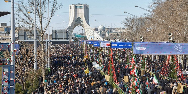 خبرگزاری فرانسه: راهپیمایی ۲۲ بهمن، نمایش اتحاد ایرانیها در برابر آمریکا بود