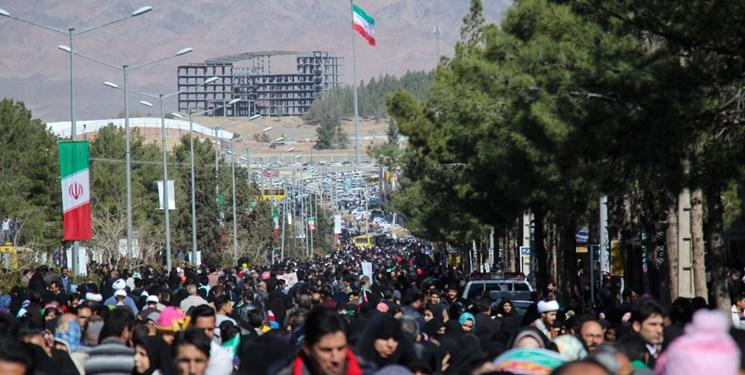 راهپیمایی ۲۲ بهمن ۹۸ در بیرجند