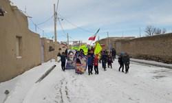 فیلم خروش مردمی در آخرین روستای جنوبشرقی زنجان