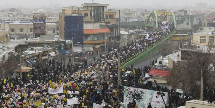 راهپیمایی ۲۲ بهمن ۱۳۹۸ - اراک