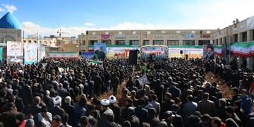 جلوههایی از جشن انقلاب در بام ایران