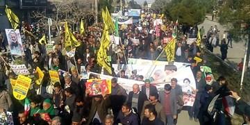 برگزاری مراسم باشکوه راهپیمایی 22 بهمن در شهرستانهای خراسان رضوی