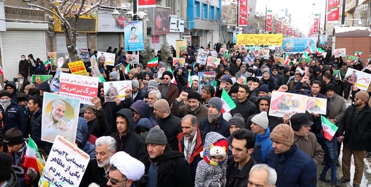 راهپیمایی یوم الله 22 بهمن در زنجان