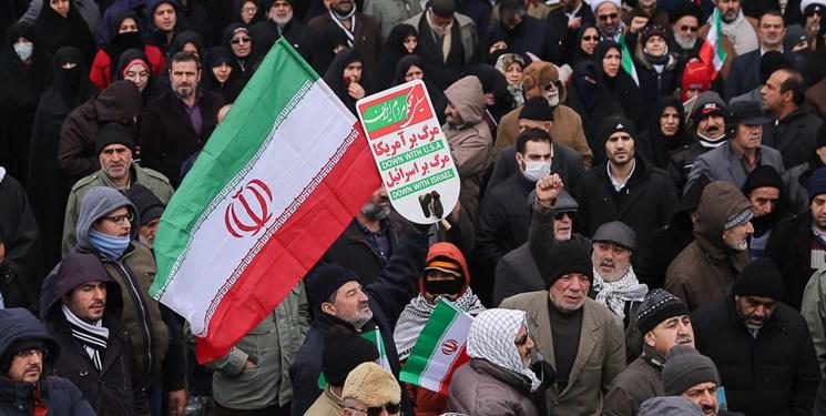 عکس| خیزش لشگر سلیمانیها در قزوین/ ۲۲ بهمن تماشاییِ مینودر