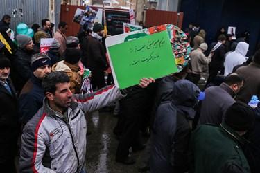 عکس| خیزش لشگر سلیمانیها در قزوین/ شکستی بزرگ برای امریکا
