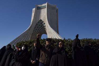 راهپیمایی ۲۲ بهمن ۱۳۹۸/ تهران - ۱
