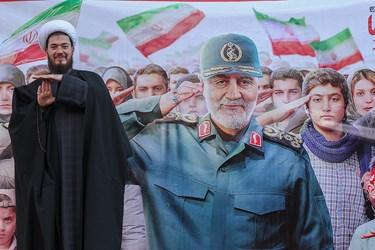 تجدید بیعت ایرانیان در فجر سلیمانی