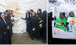 نمایشگاههای مدرسه انقلاب در راهپیمایی 22 بهمن