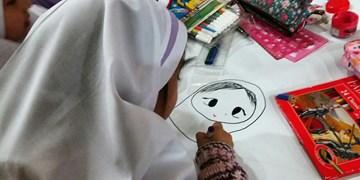 فیلم  نقاشی جادویی دانش آموزان گرگانی در روزهای کرونایی