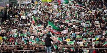 سنگ تمام شیرازی ها در راهپیمایی 22 بهمن