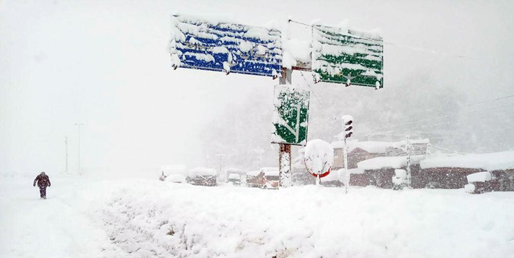 وضعیت منطقه سراوان جاده رشت به قزوین