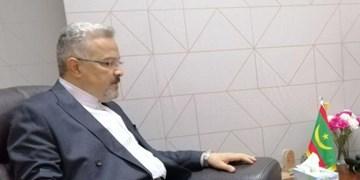 تقدیم رونوشت استوارنامه سفیر جدید ایران به وزیر خارجه موریتانی