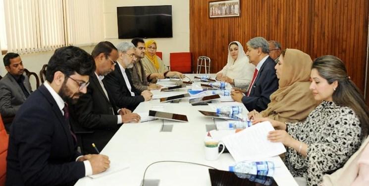 تاکید ایران و پاکستان بر تقویت همکاریهای پارلمانی