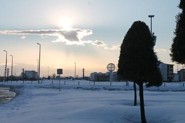 عکس| رشت، ۳ روز پس از برف