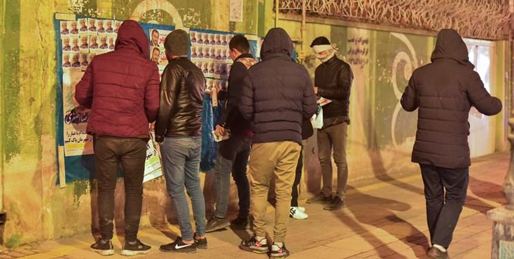 نخستین ساعات تبلیغات نامزدهای انتخابات مجلس در بجنورد
