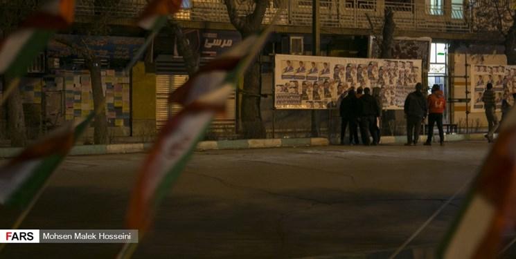 ساری در تب و تاب انتخابات/ همه جای شهر رنگ انتخابات گرفت+ فیلم