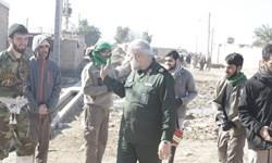 حضور  فرمانده سپاه تهران در مناطق محروم اهواز