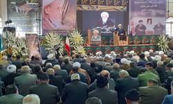 مراسم بزرگداشت آیت الله طبرسی با سخنرانی تولیت آستان قدس رضوی
