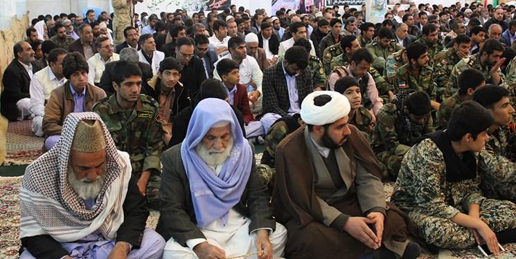 برگزاری مراسم گرامیداشت اربعین سپهبد شهید سلیمانی در خاش