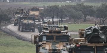 یک کشته و ۴ مجروح در پی حمله به کاروان نظامی ترکیه در سوریه
