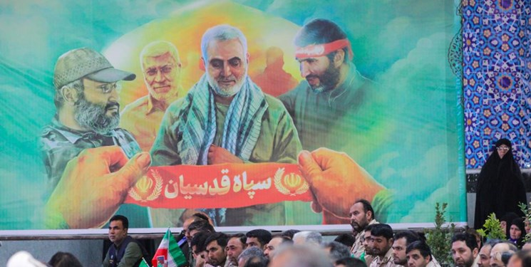 مراسم چهلمین روز شهادت سردار شهید سلیمانی در بیرجند