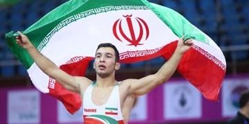 کشتی قهرمانی آسیا| ناصرپور به مدال طلا دست یافت