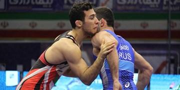 کشتی قهرمانی آسیا| 5 فرنگی کار ایران به مرحله نیمه نهایی راه یافتند