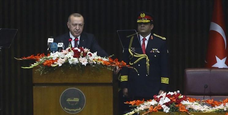 اردوغان: معامله قرن، نقشه اشغال است/ مشکل کشمیر از طریق درگیری و ظلم حل نمیشود