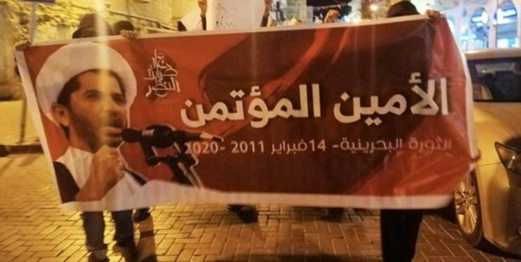 نهمین سالگرد انقلاب 14 فوریه|مردم بحرین خواستار پایان حکومت خاندان آلخلیفه شدند