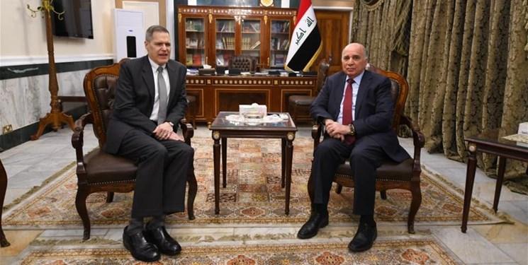 دیدار سفیر آمریکا با معاون نخستوزیر پیشبرد امور عراق