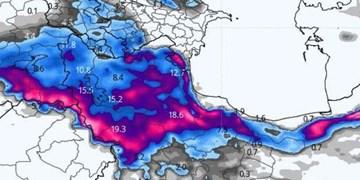 سامانه جدید بارشی از روز یکشنبه وارد  آذربایجان شرقی میشود