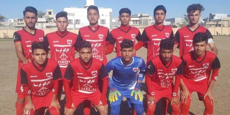 تیم فوتبال امید گناوه به مسابقات لیگ دسته اول صعود کرد
