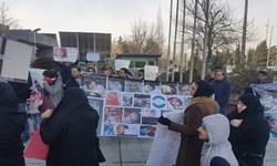 تجمع بیماران SMA مقابل وزارت بهداشت + تصاویر