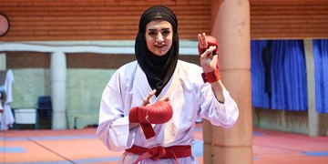 لیگ کاراته وان| آل سعدی نقره گرفت