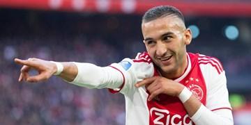 زیاش برترین بازیکن فصل لیگ هلند از نگاه هواسکورد