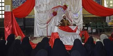 سیسخت غرق در جشن وسرور ولادت دخت نبی اسلام