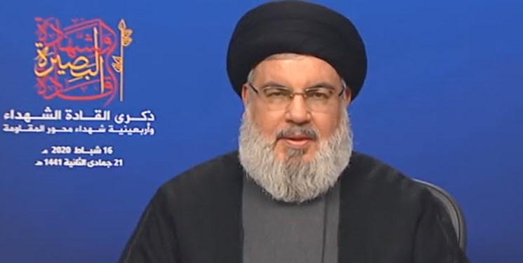 نصرالله: مقابله با آمریکا باید فراگیر و شامل همه حوزهها باشد؛ عراق، اخراج آمریکا را فراموش نکند