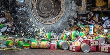 امحای 10 تن مواد غذایی فاسد در ارومیه