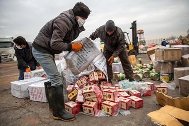 امحای ۴۰۰ تن مواد غذایی و کالای سلامت